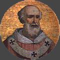 Imago clipeata dal mosaico di San Paolo fuori le mura, Roma
