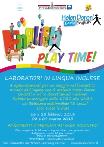 English Play Time!