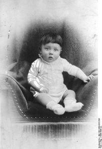 Hitler da bambino