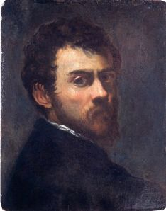 Tintoretto, autoritratto, 1548 circa