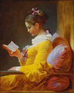 Jean-Honoré Fragonard, La lettura