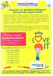 Laboratori gratuiti a cura della Helen Doron School of English di San Benedetto del Tronto